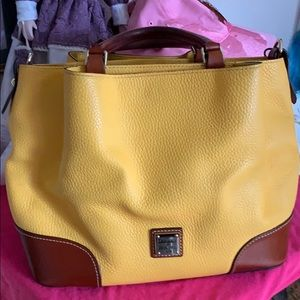 Lovely yellow and brown Brenna . Barely used!
